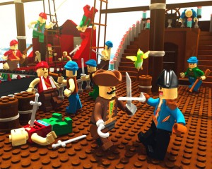 конструктор лего пираты