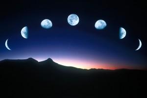 развивающие игры - астрономия для детей, фазы луны