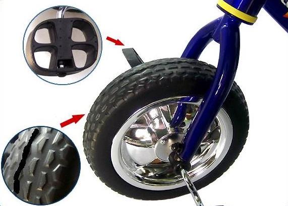 трехколесный велосипед с