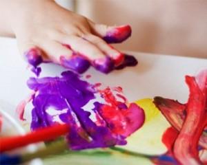 Пальчиковые краски рисунки