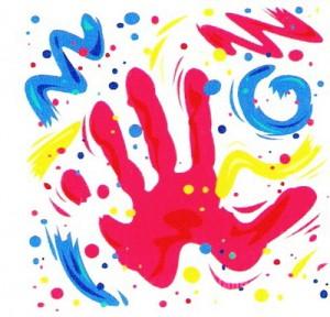рисунки пальчиковыми красками