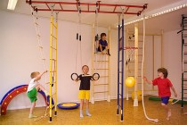 Детская спортивная стенка