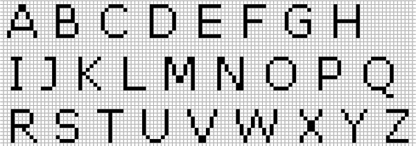 фенечки с именами схемы