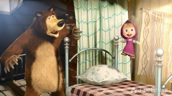 смотреть бесплатно Певая встреча Маша и медведь онлайн
