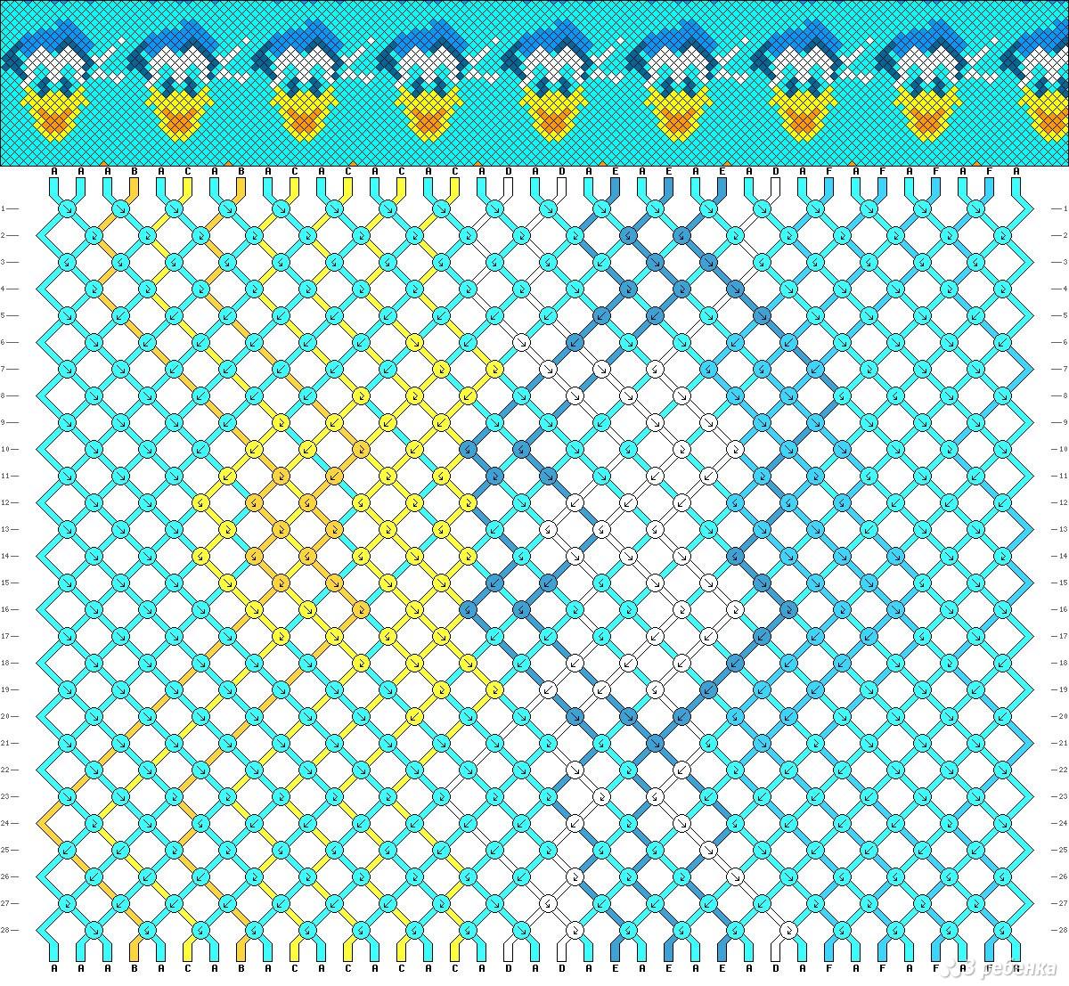 Фенечки из мулине с картинками схемы