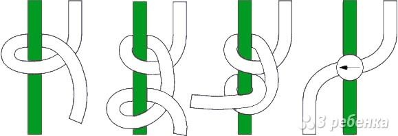схемы фенечки с именами