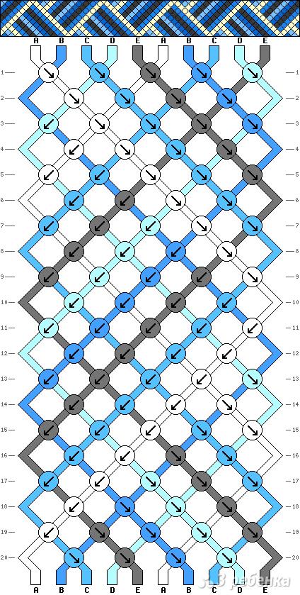 Схема фенечки 2008