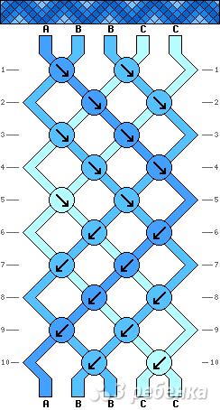Схема фенечки 2697