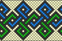 Схема фенечки 2067