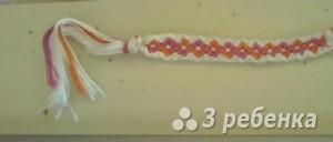 Схема фенечки 1345