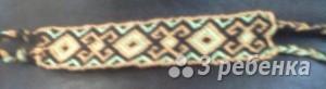 Схема фенечки 1556