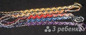 Схема фенечки 2704