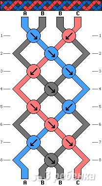Схема фенечки 2224