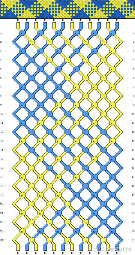 Схема фенечки 2294