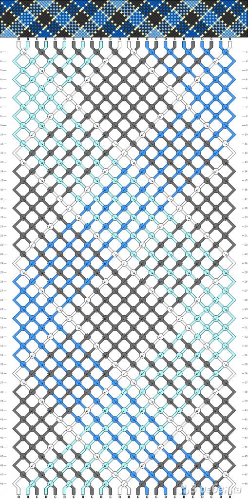 Схема фенечки 2278