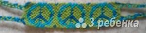 Схема фенечки 2438