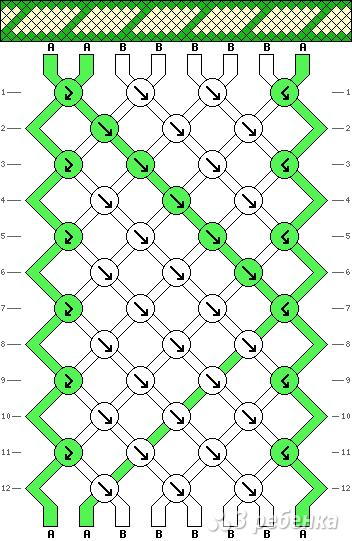 Схема фенечки 3267