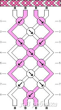 Схема фенечки 3294