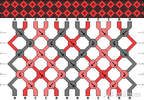 Схема фенечки 3132