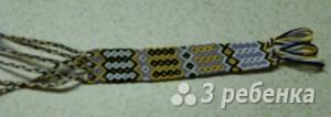 Схема фенечки 3228