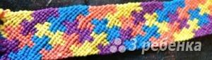 Схема фенечки 3326