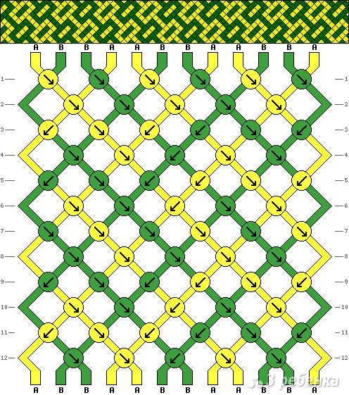 Схема фенечки 3191