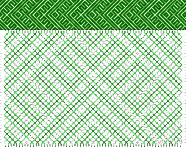 Схема фенечки 3110
