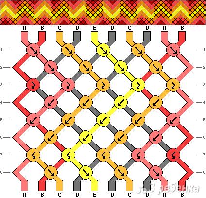 Схема фенечки 3273