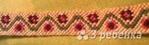 Схема фенечки 2981
