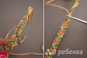 плетем фенечку