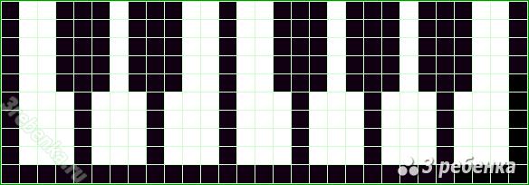 Фенечка прямое плетение 3 цвета