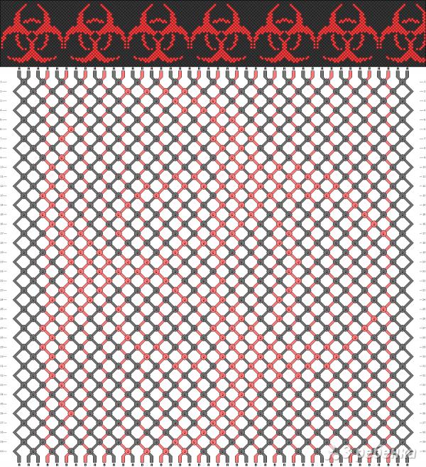Схема фенечки 3914