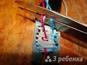 обрезаем нитки