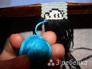 голубая нитка
