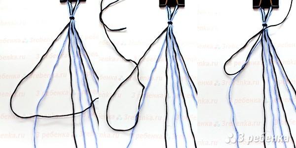 основной узел фенечки