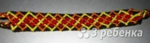 Схема фенечки 4609