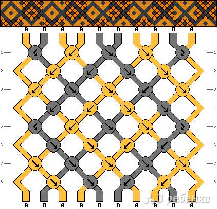 Схема фенечки 4470