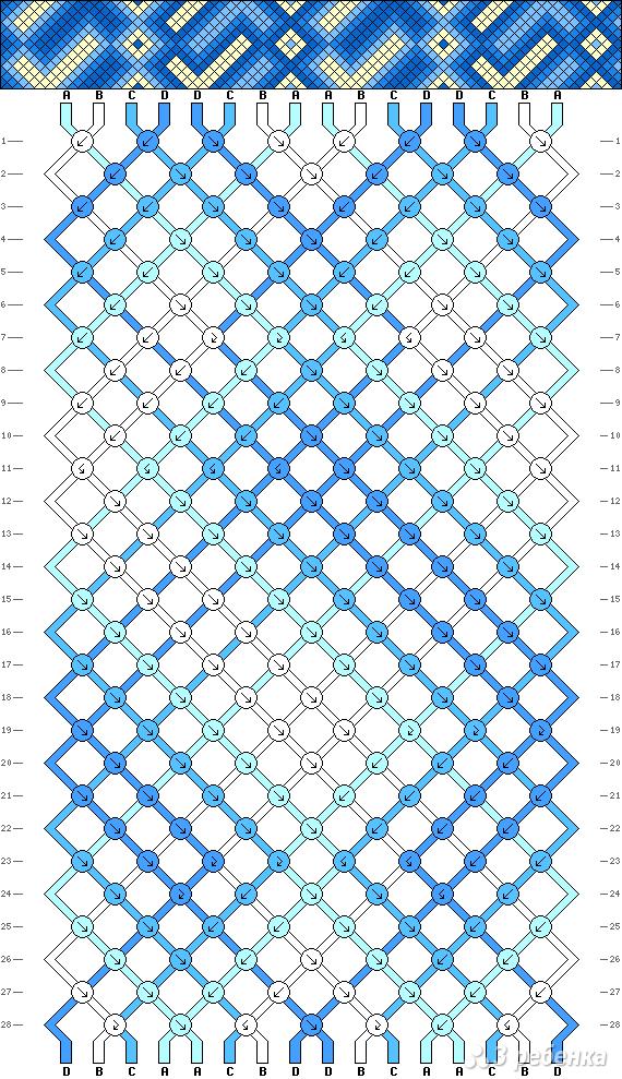 Схема фенечки 4663