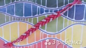 Схема фенечки 4534