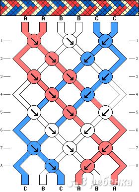 Схема фенечки 4789