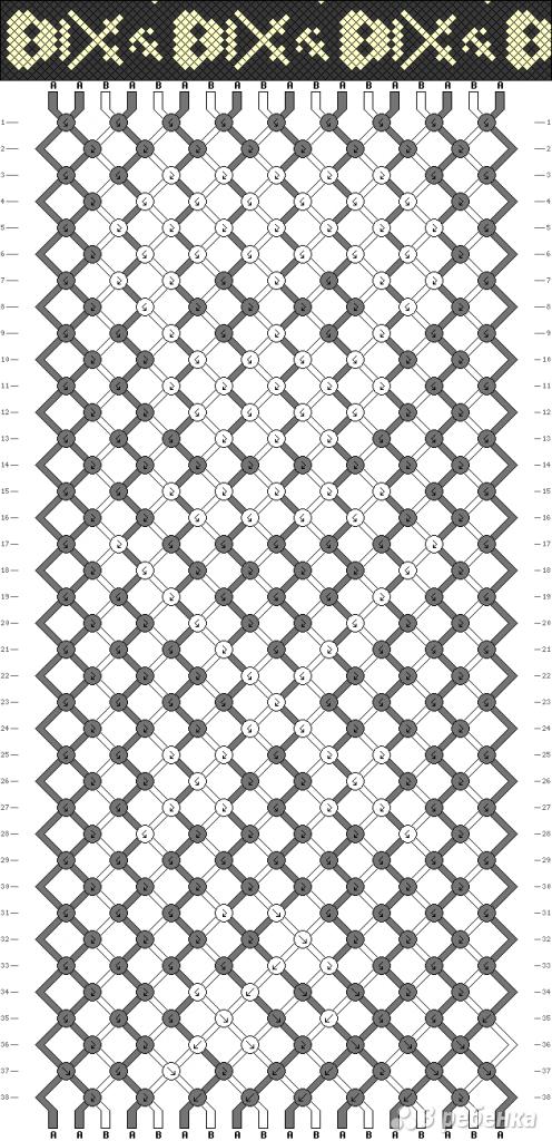 Схема фенечки 4861