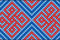 Схема фенечки 4802