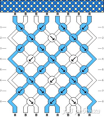 Схема фенечки 4774