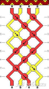 Схема фенечки 4903