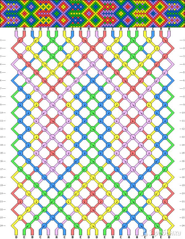 Схема фенечки 4828