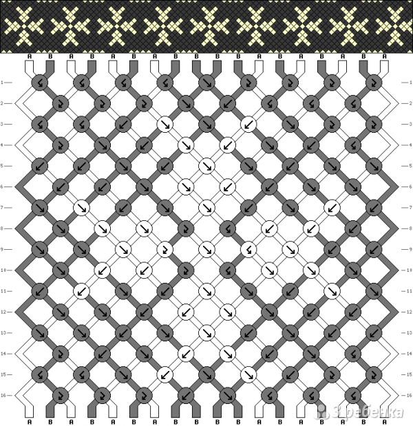 Схема фенечки 5141