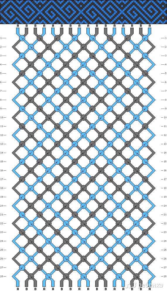 Схема фенечки 5263