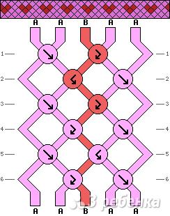 Схема фенечки 5318