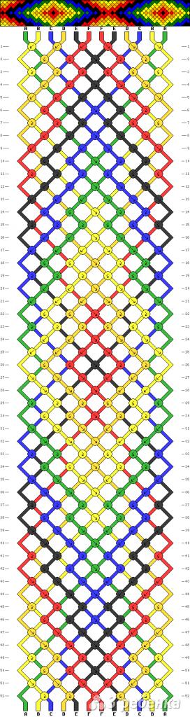 Схема фенечки 5043