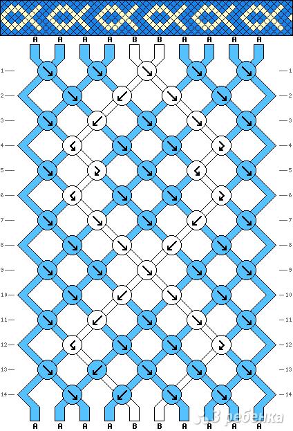 Схема фенечки 5297